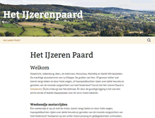 Tablet Preview of ijzerenpaard.nl
